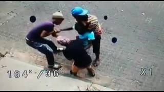 CCTV footage of daylight robbery in Hillbrow