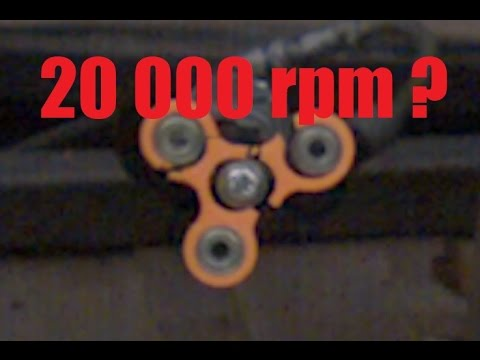 Thumbnail: How Fast Can a Fidget Spinner Spin? (Before Exploding)