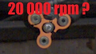 Video How Fast Can a Fidget Spinner Spin? (Before Exploding) download MP3, 3GP, MP4, WEBM, AVI, FLV Mei 2017