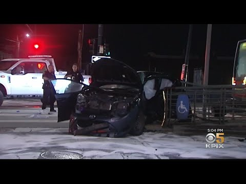 2 Dead In Multiple-Vehicle Crash In SF Bayview District
