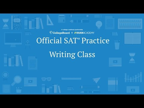 Видео Sat writing sample essay