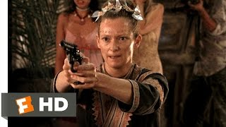 The Beach (5/5) Movie CLIP - The Unloaded Gun Backfires (2000) HD
