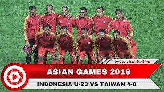 Indonesia Menang Telak 4-0 Atas Taiwan di Laga Perdana Asian Games 2018, Stefano Cetak 2 Gol