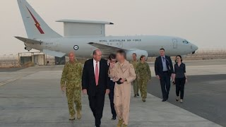 Minister for Defence visits the Middle East
