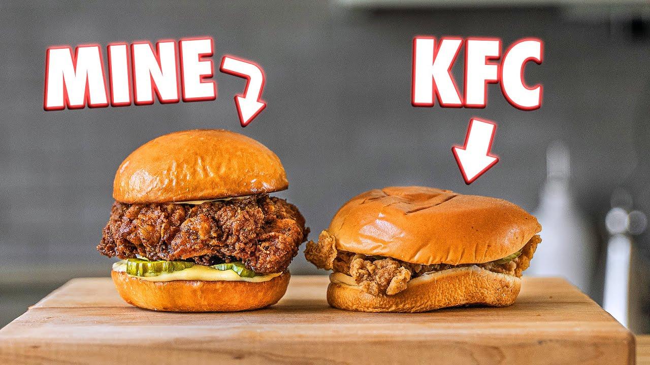 KFC Chicken Sandwich But Better