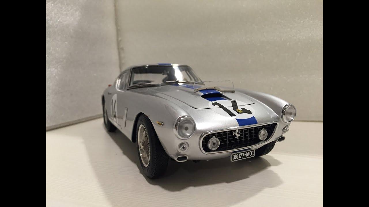 1 18 Cmc Ferrari 250 Gt Swb Berlinetta Competizione Le Mans Youtube