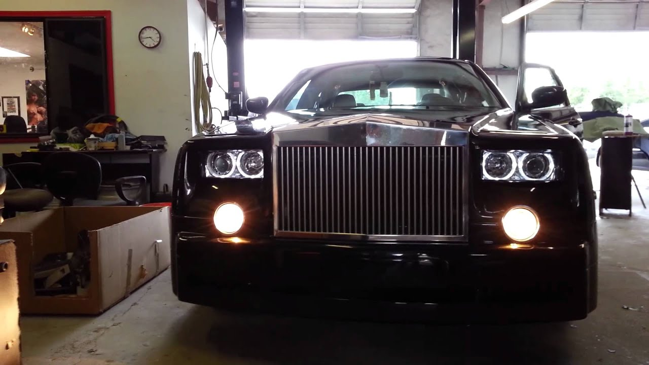 2007 Chrysler 300 Rolls Royce Conversion After Completion