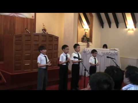 Jesus Bids Us Shine: True Jesus Church 真耶穌教會 in Elgin Choir presentation TJC