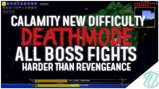 Video Calamity New Difficulty! All Boss Fights DEATHMODE (Harder than revengeance! - endurance mode) download MP3, 3GP, MP4, WEBM, AVI, FLV November 2017