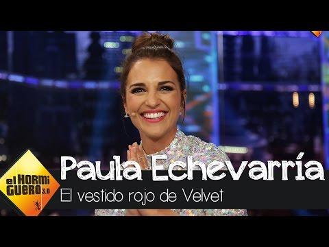 """Paula Echevarría: """"Quiero el vestido rojo de Ana Rivera para mi hija"""" - El Hormiguero 3.0 thumbnail"""