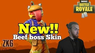 FORTNITE ITEM SHOP UPDATE | New Beef Boss Skin | New Shotgun & Steady Storm Mode | Playing With Subs