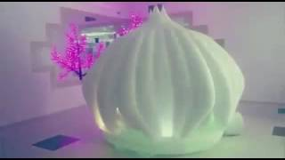 Необычный выход невесты из цветка лотоса ресторан К8