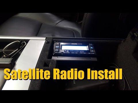 2008 Honda Goldwing Wiring Diagram Satellite Radio Installation Siriusxm Radio Youtube