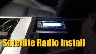 How to Install Satellite Radio (Sirius XM Radio)