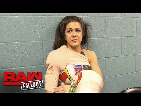 An emotional Bayley ponders what's next: Raw Fallout, August 1, 2017
