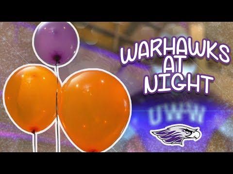 UWW WARHAWKS AT NIGHT 2018