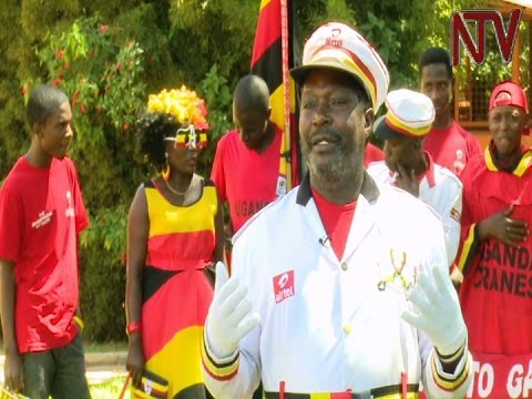 "Uganda Cranes supporter ""Uncle Money"" launches fundraising drive to take him to Gabon"