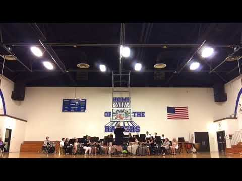 East Burke Middle School Band 5.8.18 part 3