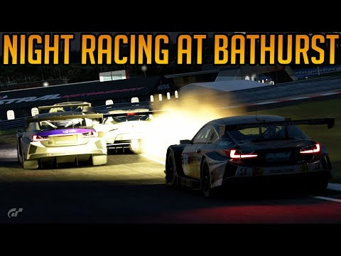 Gran Turismo Sport: Night Racing at Bathurst thumbnail