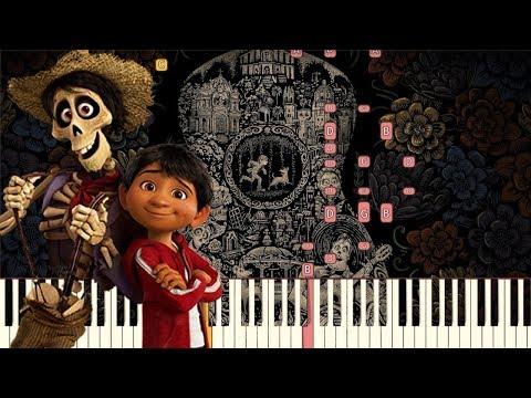 Proud Corazón - Pixar's COCO [Piano Tutorial] (Synthesia)