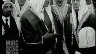 فيديو نادر لزيارة الملك فيصل لبريطانيا عام 1932