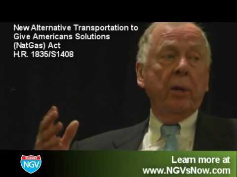 T.  Boone Pickens shares why natural gas is a smart investment