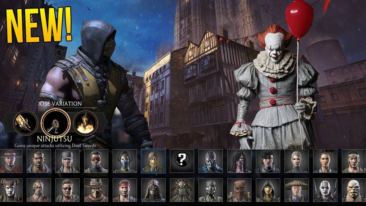 Mortal Kombat 11 New Character PENNYWISE?!