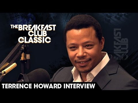 Breakfast Club Classic - Terrence Howard 2013 Interview
