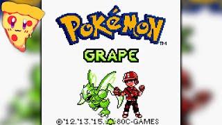 Pokemon Grape ROMHACK v1.0 - Full Playthrough! - Race
