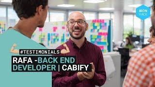 Rafa - Backend Engineer @cabify y #ironhacker
