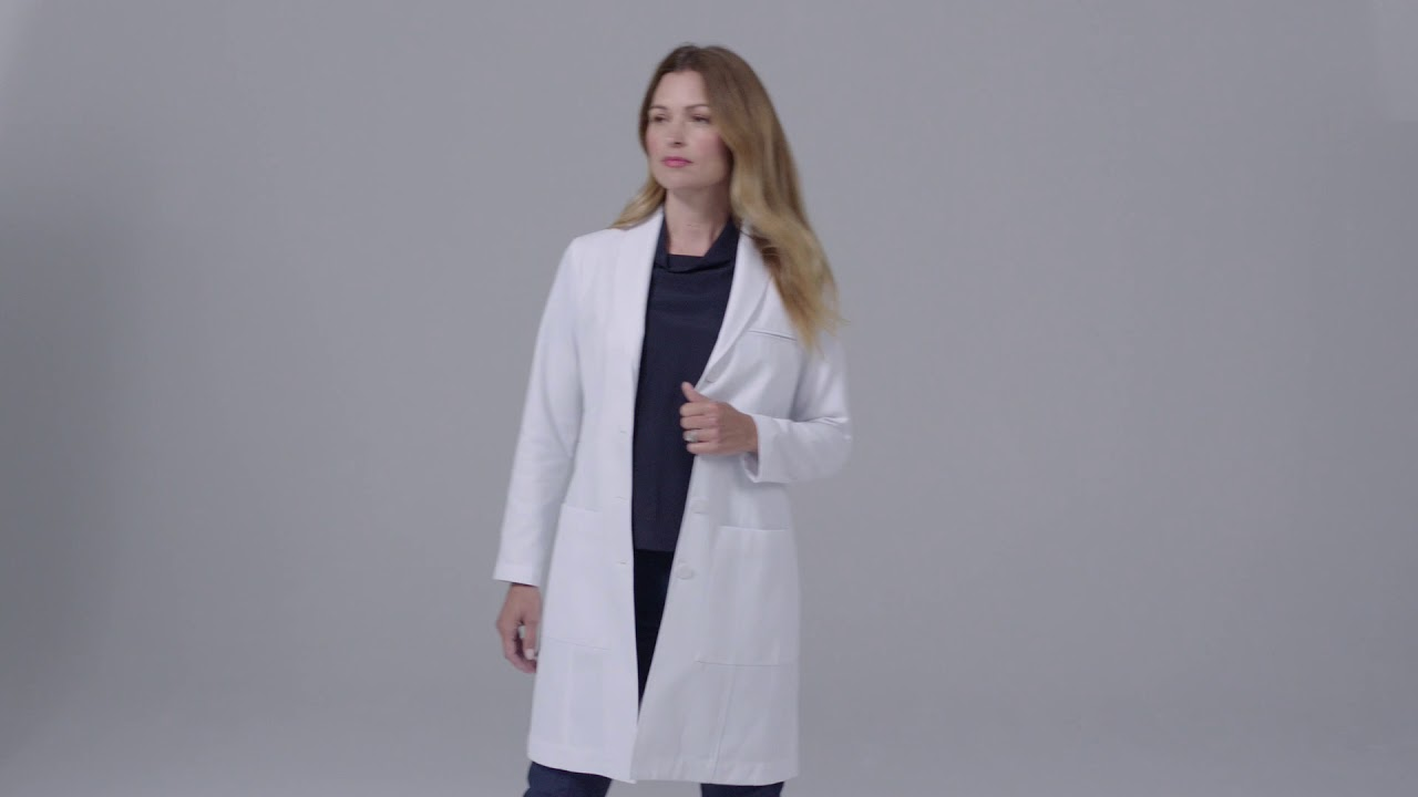 c9e8f950f2c Women's Emma W. Classic Fit Lab Coat - YouTube