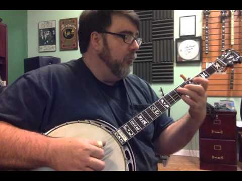 Blue Christmas on Banjo by Richie Dotson