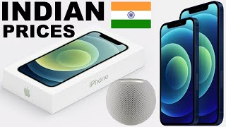 IPHONE 12 SERIES INDIAN PRICES & RELEASE DATES!