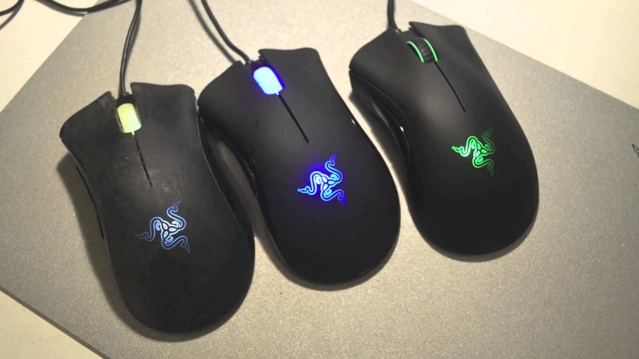 Razer Deathadder 2013 Review - Upgrade comparisons with 3G / 3 5G  Deathadder - by Takasta