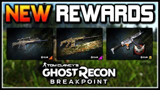 Ghost Recon Breakpoint | NEW Uplay Rewards, Weapon Variants, Camos & More!
