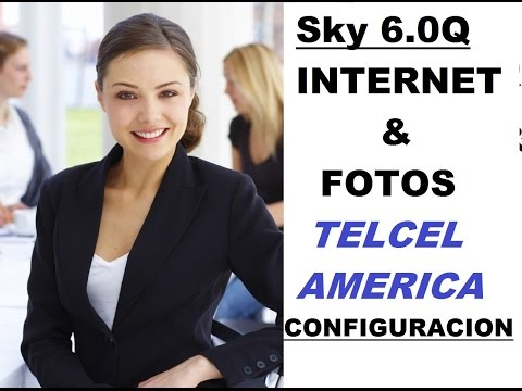 Internet y Mensajes con Foto de Telcel America 4G para SKY 6.0Q y Otros