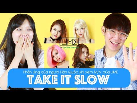 Phản ứng của người Hàn Quốc khi xem M/V Take It Slow của LIME | Khoa Tieng Viet