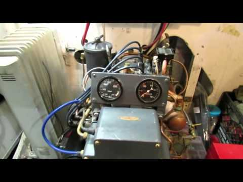 PT Boat Engine Room Walk through Tour of Higgins PT658
