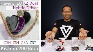 Review IEM KZ Dual Hybrid Driver (ZSN, ZS4, ZSA, ZST) Kisaran 200 Ribu