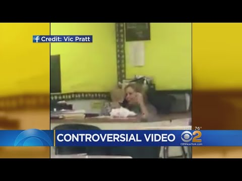 Viral Video Catches Hempstead Teacher Chatting On Phone During Class