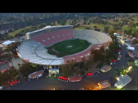 The ROSE BOWL STADIUM After New Years Game 2016 4KHD