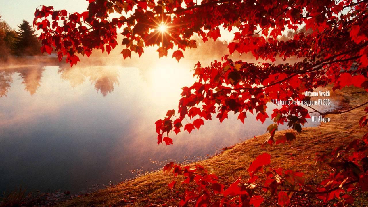 Beautiful Fall Wallpaper Desktop Antonio Vivaldi Le Quattro Stagioni Hd Youtube