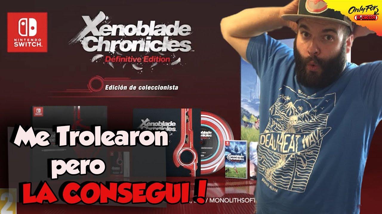 Me engañaron al Reservar Mi Edición Coleccionista de Xenoblade Chronicles!