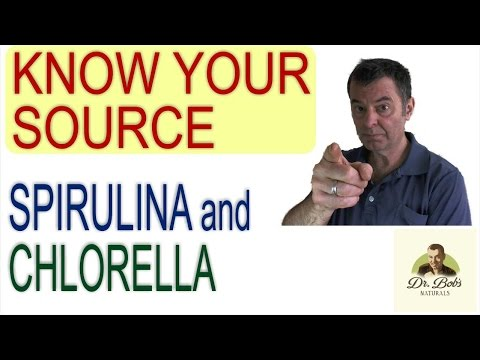 Chlorella and Spirulina - Where to buy Chlorella and Spiruli