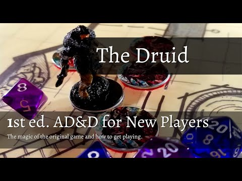 1st Edition AD&D - The Creative Power of the Druid — T