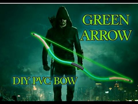 DIY PVC Recurve Bow-Green Arrow Inspired