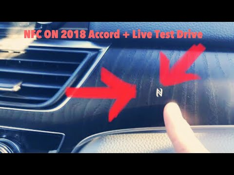 NFC (Near Field Communication) On The 2018 Honda Accord Touring + Test Drive