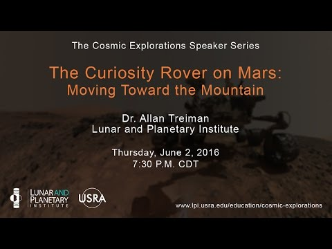 The Curiosity Rover on Mars: Moving Toward the Mountain