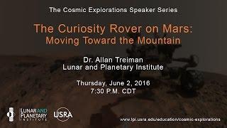 The Curiosity Rover on Mars: Moving Toward the Mountain
