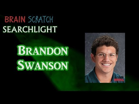 Brandon Swanson on BrainScratch Searchlight